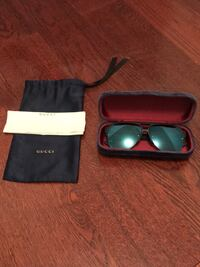 Black framed Gucci sunglasses with case Bel Air, 21014