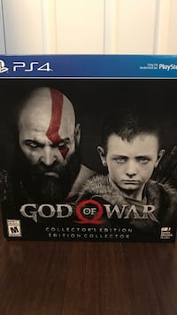 God of war collectors edition for PS4  Whitby, L1R 1Z2