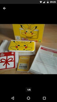Nintendo 3ds limited Pikachu Edition selten
