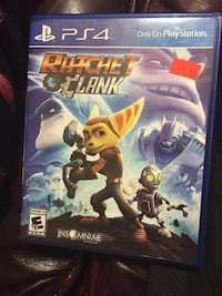 Ratchet Clank PS4 game case Houston, 77049