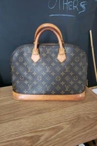 Authentic Louis Vuitton Alma Purse - Vintage