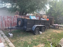 Black Trailer for sale