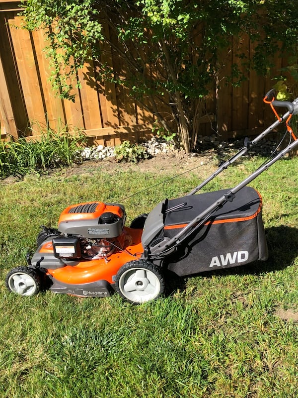 Honda husqvarna awd lawnmower 0