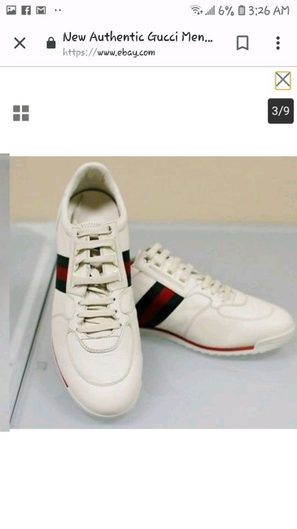 719d3b5fbf9 ... Used Gucci sneakers 7.5mens 9.5womans for sale in Vancouver ...