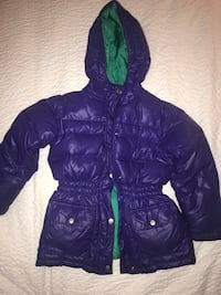Girls Purple Puffy Winter Coat Woodbury, 55125