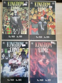 Kingdom Come #1-4 (1996) Singapore