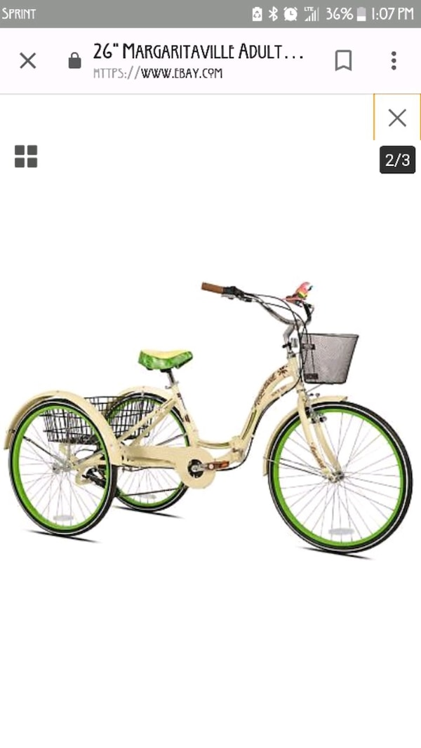Kent Margaritaville Tricycle