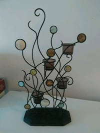 Table decorations candle holder in  great condition