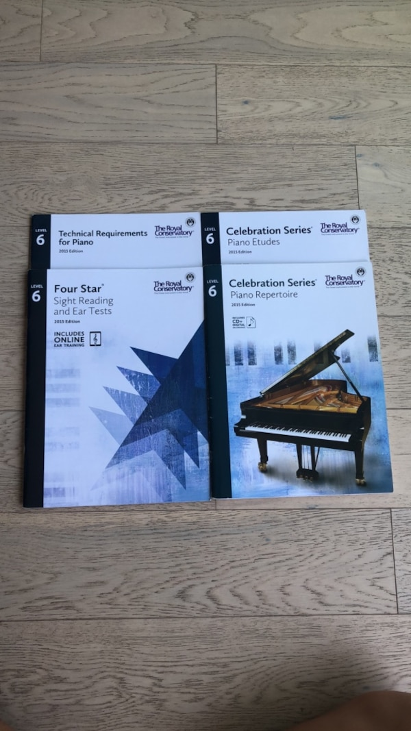 Piano books LEVEL 6