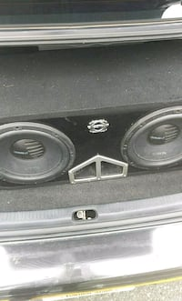 black and gray Pioneer subwoofer speaker Union City, 07087