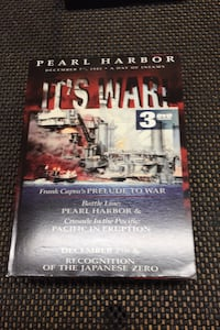 Pearl Harbor, It's War DVD set Baltimore, 21236