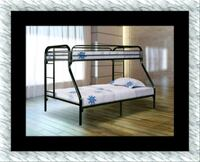 Full Twin bunkbed frame free shipping and delivery District Heights, 20747