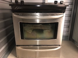 Kenmore Elite Double Oven Gas Range w/Convection Cooking