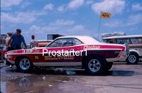 4x6 Color Drag Racing Photo Dick Humbert BILLY The Kid STEPP Dodge Challenger Smyrna