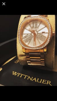 WN4008 Women's Watch Rose Gold-Tone Stainless Steel Crystal by Wittnauer    Edmonton, T5C