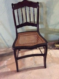 brown wooden framed padded armchair Syracuse, 13215