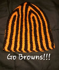 Brown and orange crochet cap/beanie Garfield Heights, 44125