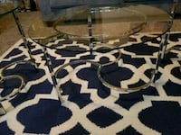 3 piece glass table set  Grovetown, 30813