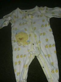 baby's white and pink footie pajama Christiansburg, 24073