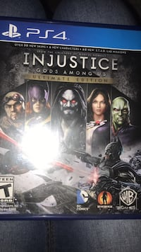 Injustice PS4 Fort Worth, 76052