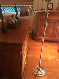 Stainless steel downlight floor lamp like new