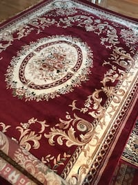 Brand new rug size 8x11 nice red carpet Persian style rugs and carpets