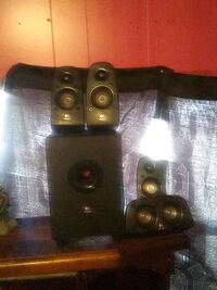 Logitech surround sound and speakers