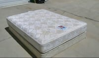 Queen Sealy PosturePedic Mattress and Box Spring Used in Great Conditions-FREE DELIVERY ! El Paso, 79936
