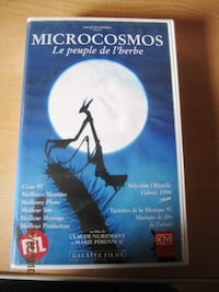 VHS VIDEO CASSETTE -MICROCOSMOS BELGESELİ-