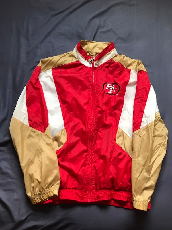 8e1c087e San Francisco 49ers Forty niners Starter Classic Team Collection Jacket