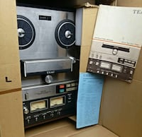 Teac 5300 reel to reel tape recorder in box 202x52 Woodstock, 22664