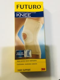 STABILIZING KNEE SUPPORT HIGH QUALITY COMFORTABLE, BREATHABLE MATERIALS. Coram, 11727