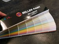 Miller Paint Color Sample/Swatches Book Beaverton, 97008