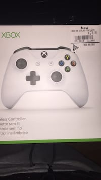 white Xbox One controller box Brampton