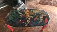 toddler's oval multicolored Marvel Avengers wooden table with cabriole leg