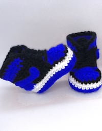Crochet baby shoes Washington