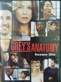 Grey's anatomy season 1-5 Kitchener, N2A 1R3