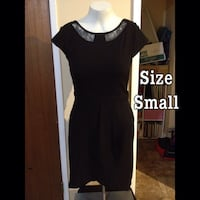 black and white scoop-neck dress Winnipeg, R2L 1H3