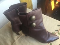 Via Spiga brown leather boots - 6.5