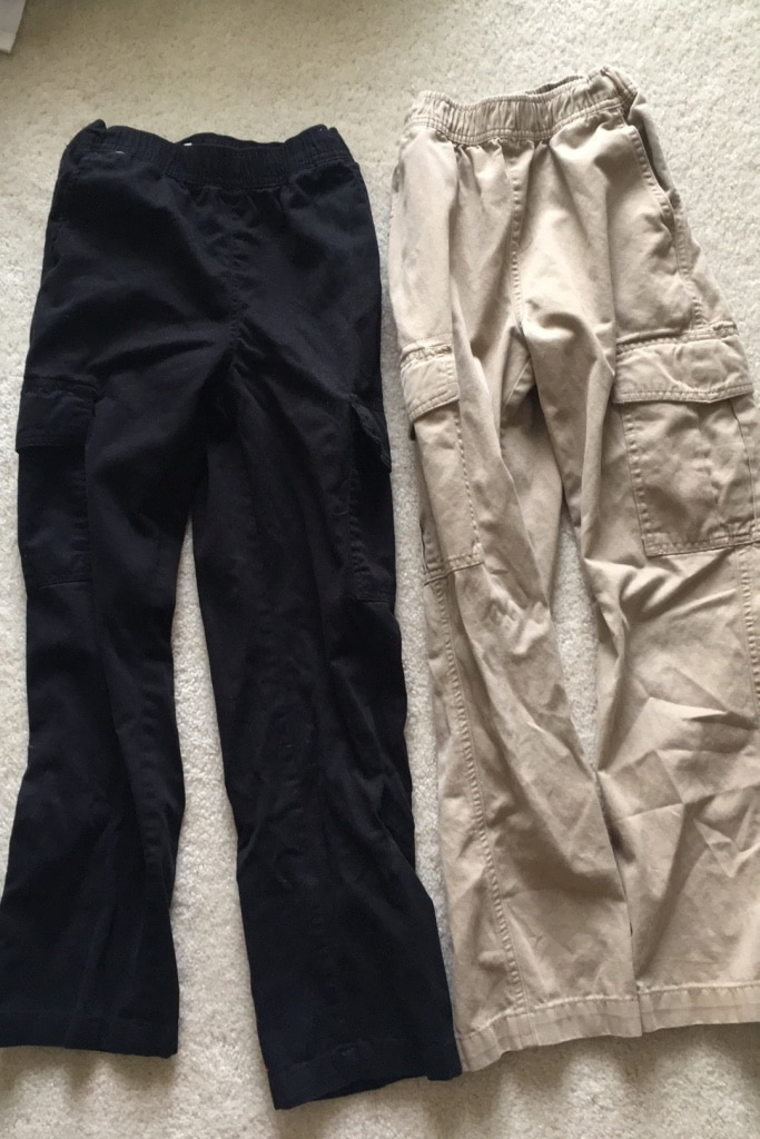 Photo Childrens place cargo pants