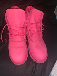 Pink timbs for sale sz 7