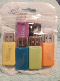 Pennette a micro SD 2.0 A USB Naples