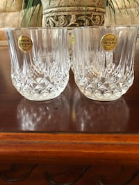 4 crystal glasses Brampton, L6S 4X6