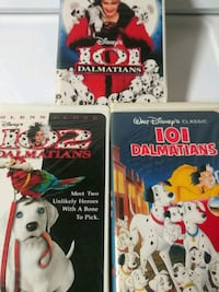 101 Dalmatians, 102 Dalmatians, and animated 101 D Baltimore