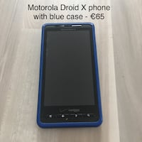 Droid X Phone w/ case SAARLOUIS