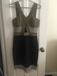Top shop bodycon cutout dress Toronto, M5N 1B6