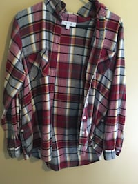 red, white, and black plaid dress shirt Greater Sudbury / Grand Sudbury, P3P 1L3