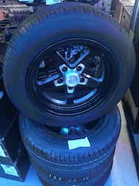 Vision wheels 15 inch 5x114.3 brand new tires for $499.99! Indianapolis, 46227