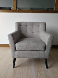 New gray mid century accent chair Toronto