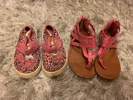 Size 6 girls toddlers shoes